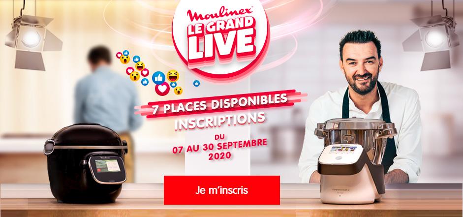 Le Grand Live Moulinex animation digitale