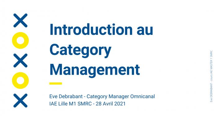 Cours de Category Management 2021